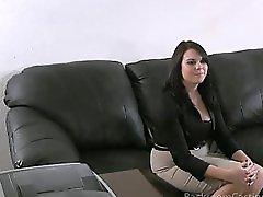 Casting chunky girl