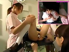 Schoolgirl Getting Her Pussy Examinted With Speculum Licked By Doctor Tits Rubbed By 2 Nurses In The Operation Room
