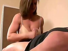 Girl DOMINAtes JERKS many different DICKs COMPilation - NV