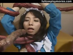 Live Action Tentacle Asian Maid