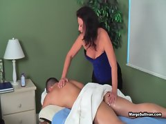 Margo Sullivan - Mom Gives Son A Massage