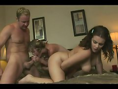 Hairy Cindy Shares Her Friend's Stepdad