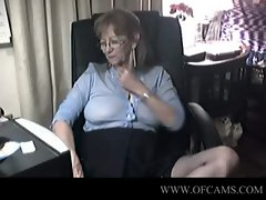 Lovely granny with glasses 6  electro follar rossi sammie date casting fucking r