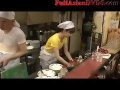 Sushi Bar Japanese Public Sex(1)