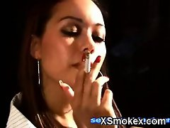 Dominant Smoking Chick Porno XXX
