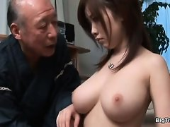 Sexy brunette babe gets horny part5