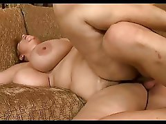 His Friend's Big Tit BBW Mom Drains His Balls
