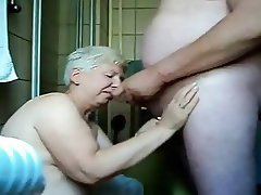 Cumming in Front of a Granny
