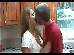 HOT MOM n135 blonde mature milf with young man