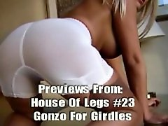 Abode of legs 23: gonzo for girdles