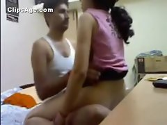 Sexy young Indian couple amateur home made sex video