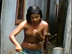Bangla desi Village Girl Bath Hidden Cam
