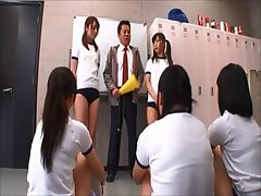 Japan high school sex orgy (part 1)