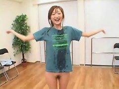 Tokiwa Rin - Dancing Bukkake Girl